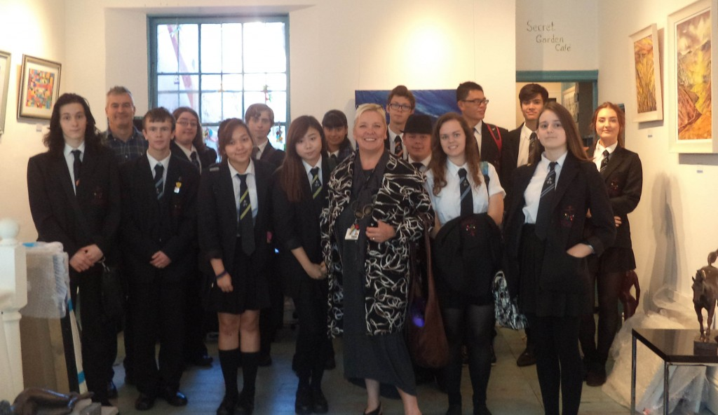 Blog 9.10.15 6th Form Exhibition