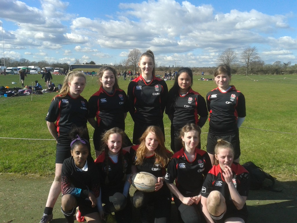 11.3.16 U13 Girls Rugby