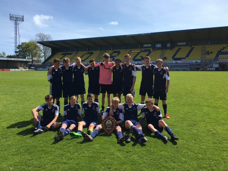 6.5.16 Year 9 Cup winners