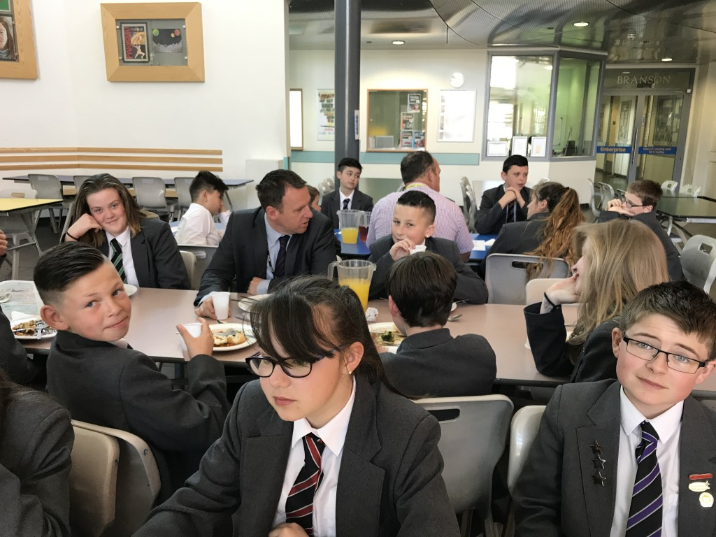 21.4.17 Lunch with principal
