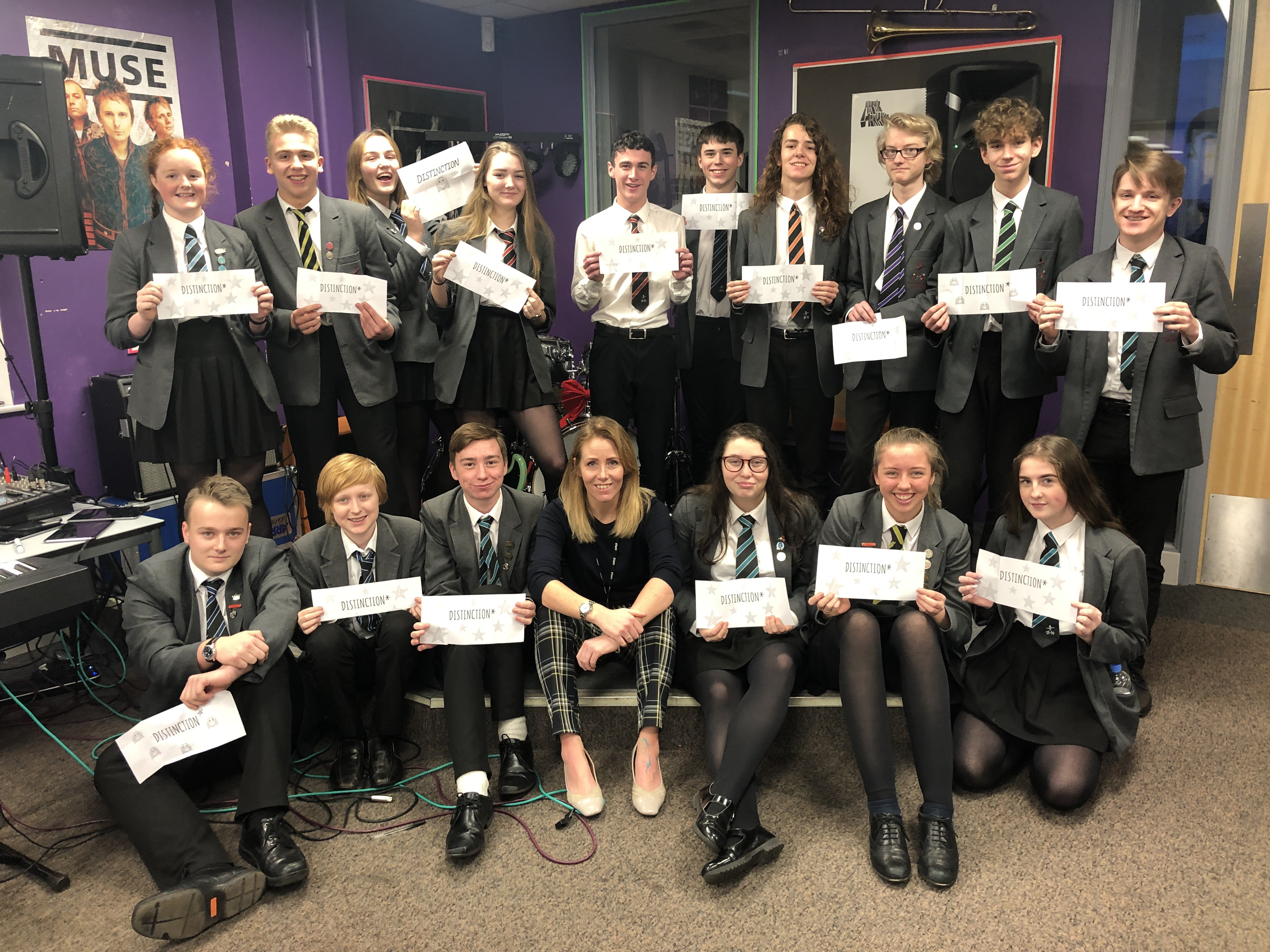 18.1.19 Y11 Music results
