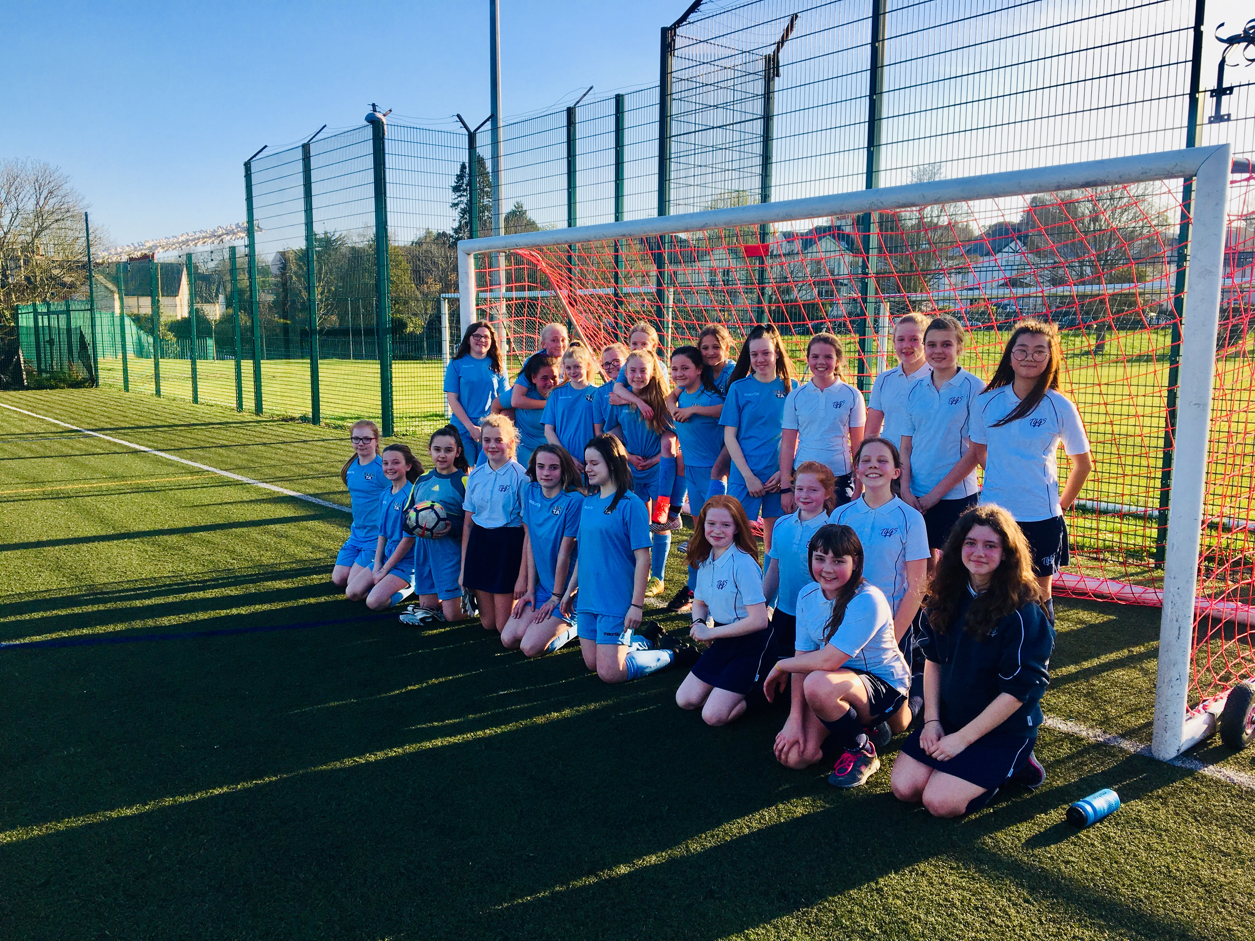 29.3.19 U13 Girls football