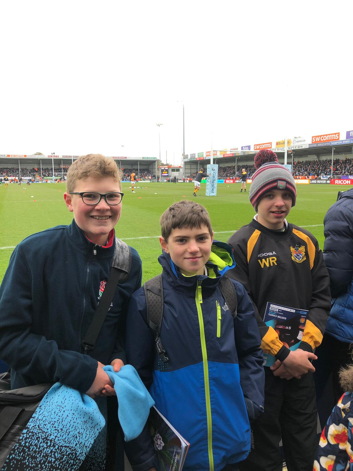 26.4.19 Y7 Exeter Chiefs