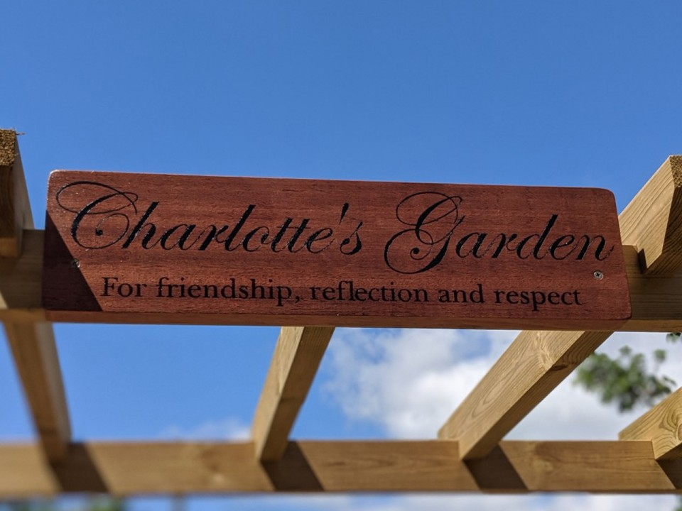 Opening of Charlotte's garden, field trips and CCF day ...