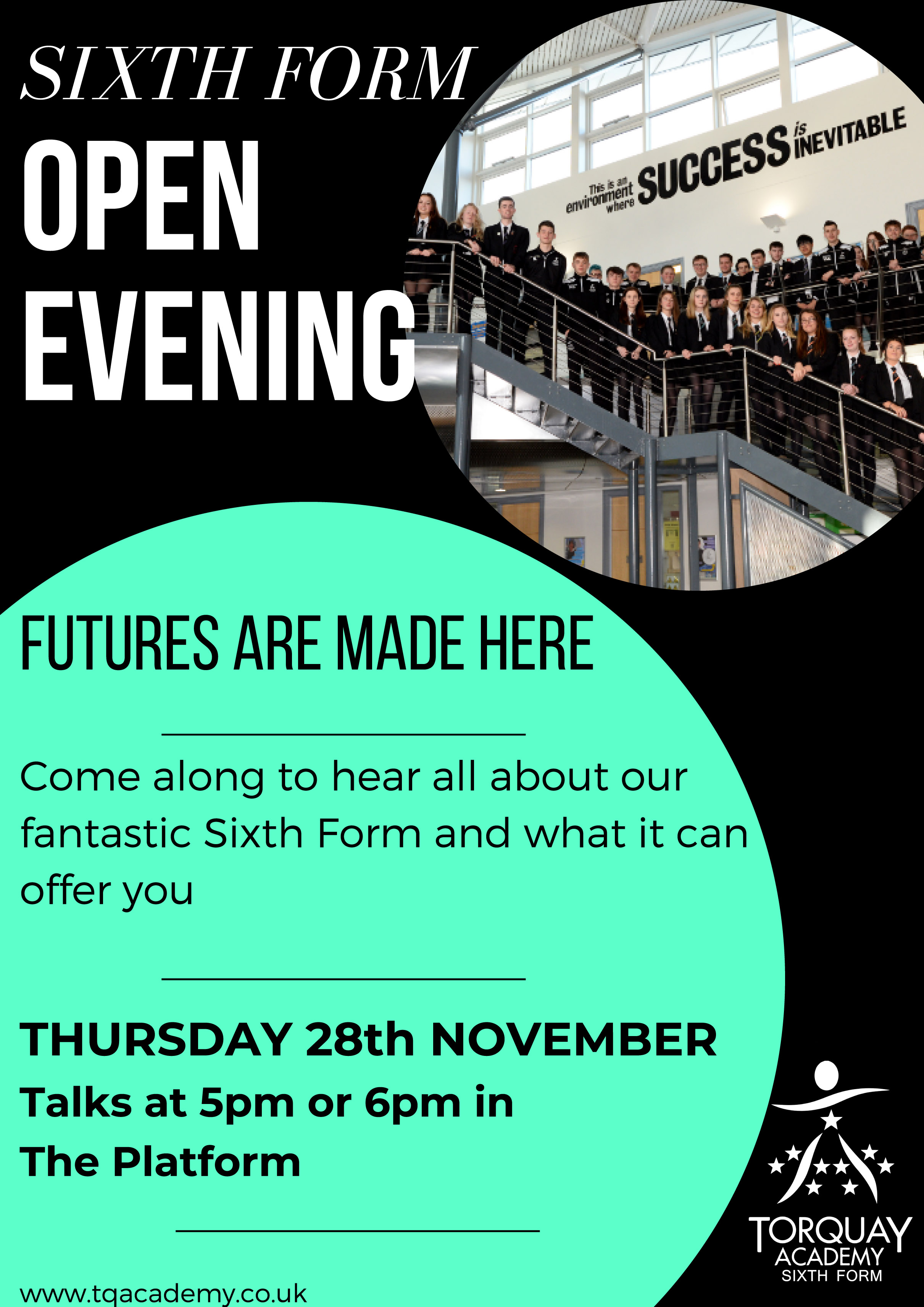 6th Form Open Evening 2019