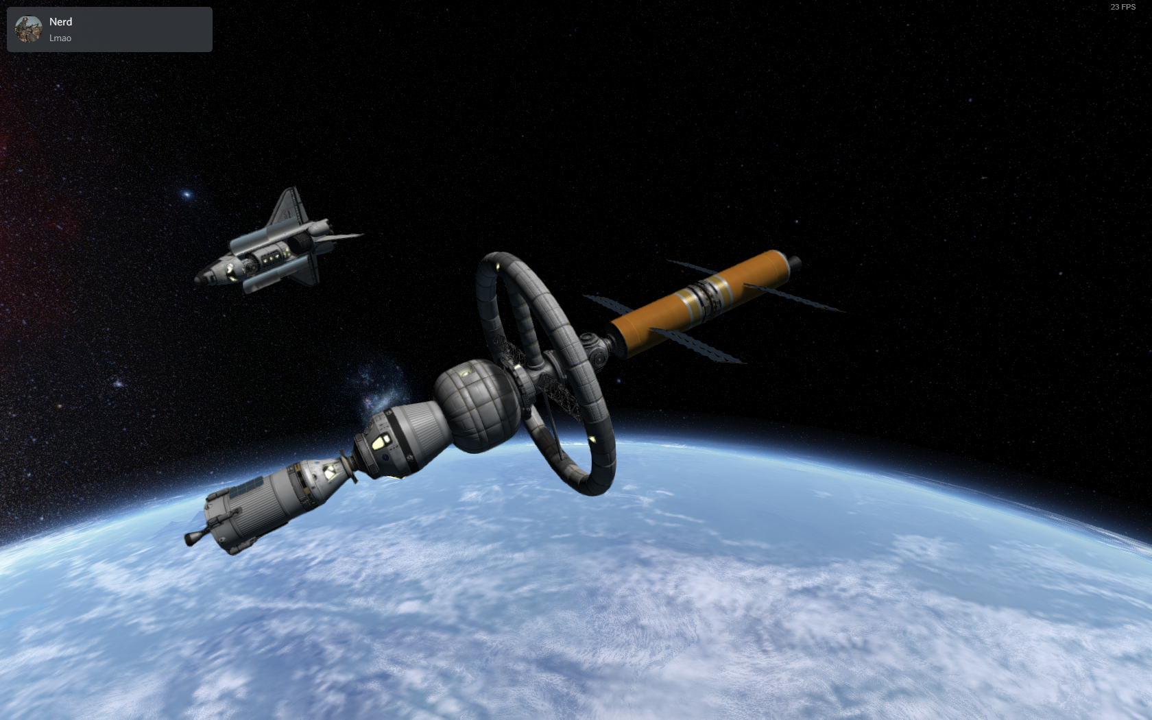 Challenger up for inspection and prep for Duna mission