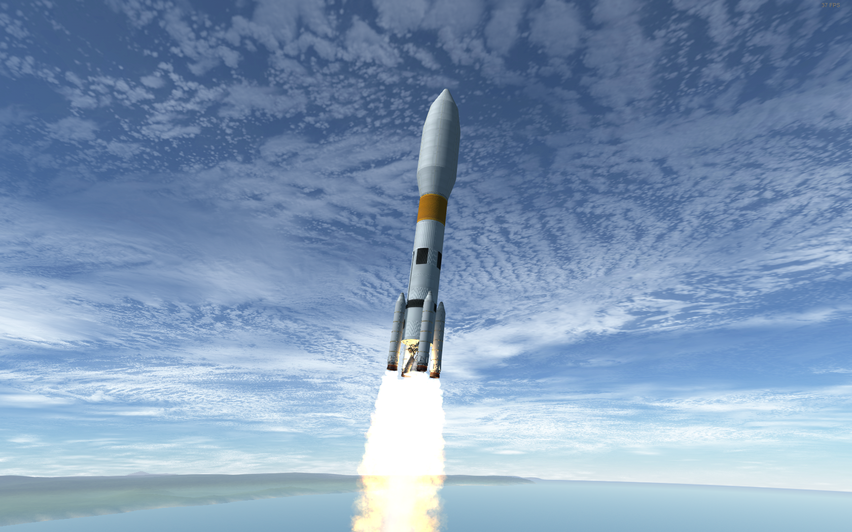 Core section launch